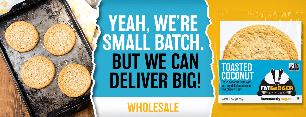 Yeah, we're small batch. But we can deliver big!. Wholesale.
